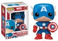 MERVEL - CAPTAIN AMERICA FUNKO POP! VINYL BOBBLE HEAD