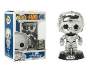 STAR WARS - E-3PO CHROME GALATIC CONVENTION EXCLUSIVE FUNKO POP! VINYL FIGURE
