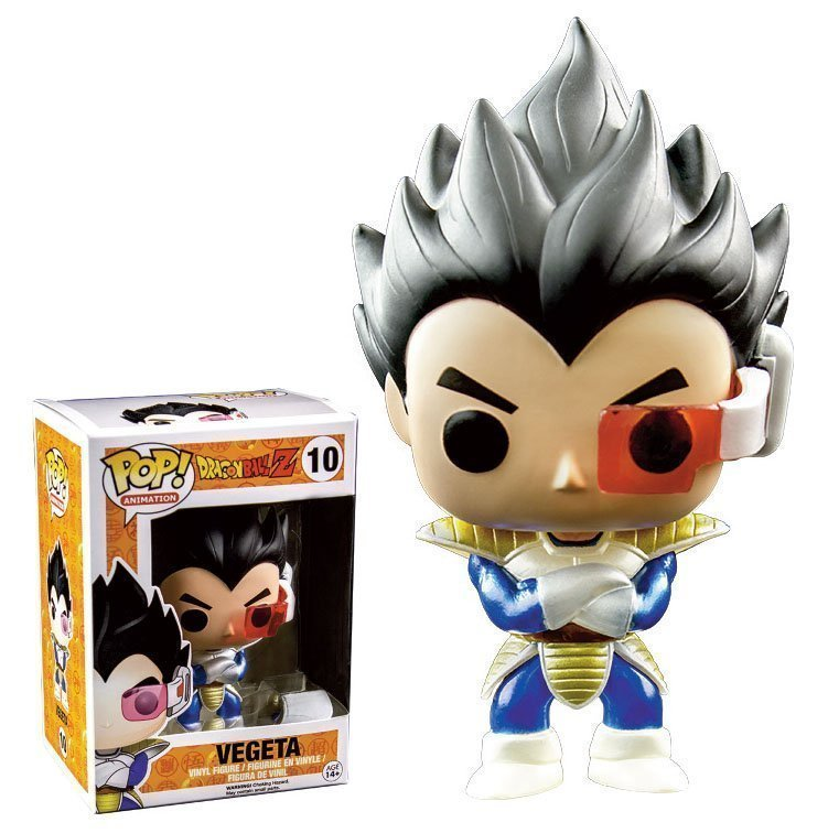 Dragon Ball Z Vegeta Metallic Limited Funko Pop Vinyl