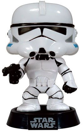 STAR WARS - CLONE TROOPER - FUNKO POP! VINYL FIGURE