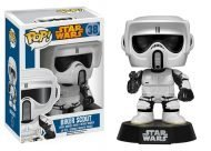 STAR WARS - BIKER SCOUT - FUNKO POP! VINYL FIGURE