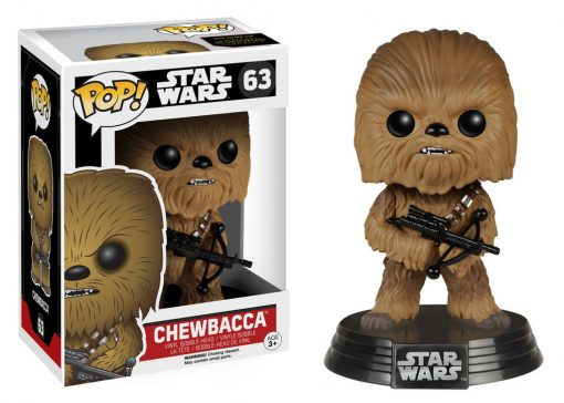 STAR WARS - FORCE AWAKENS CHEWBACCA FUNKO POP! VINYL FIGURE