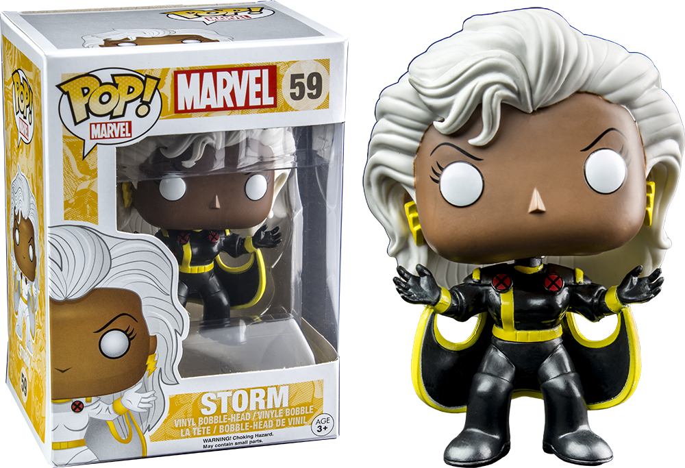 Marvel Black Storm Funko Pop Vinyl Figure Pop Addiction