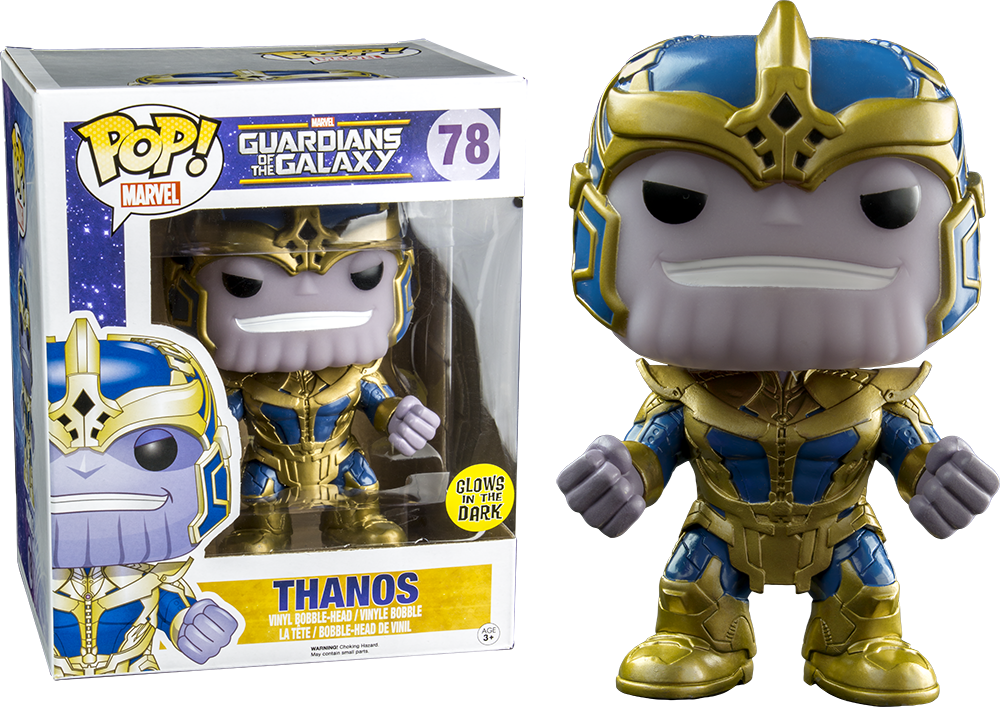 Guardians Of The Galaxy Thanos Glow In The Dark Oversize