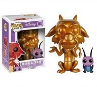 DISNEY - GOLD MUSHU AND CRICKET EXCLUSIVE FUNKO POP! VINYL FIGURE
