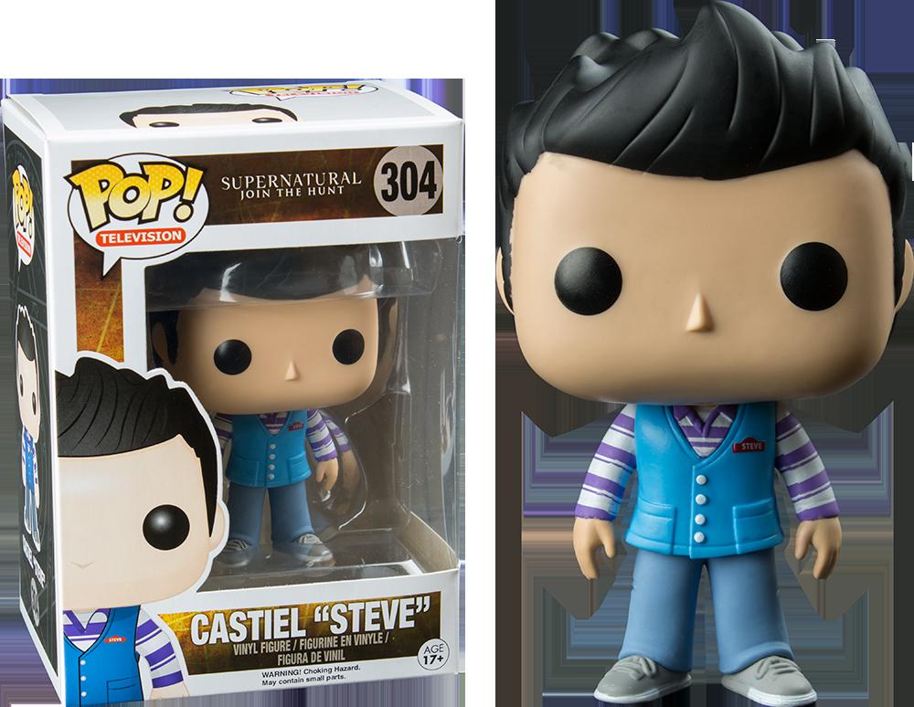 Supernatural Castiel Steve Funko Pop Vinyl Figure
