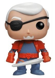 DC COMICS - DEATHSTOKE UNMASKED EXCLUSIVE FUNKO POP! VINYL FIGURE