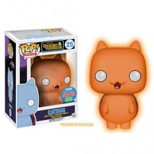 BRAVEST WARRIORS – CATBUG NYCC GLOW IN THE DARK EXCLUSIVE - FUNKO POP! VINYL FIGURE
