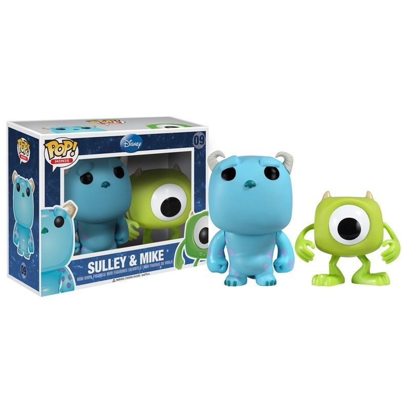 Disney Mini Pack Sulley And Mike Funko Pop Vinyl