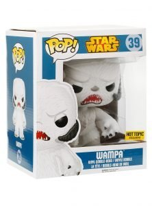 STAR WARS – WAMPA FLOCKED – FUNKO POP! VINYL FIGURE