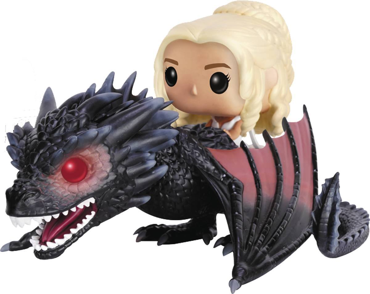Game Of Thrones Daenerys With Drogon Funko Pop Ride