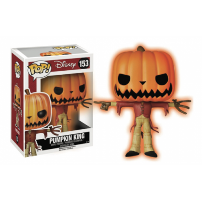 NIGHTMARE BEFORE CHRISTMAS – JACK THE PUMPKIN KING GITD - FUNKO POP! VINYL FIGURE