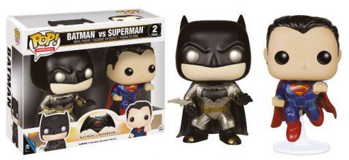 BATMAN VS SUPERMAN – METALLIC 2 PACK – FUNKO POP! VINYL FIGURE