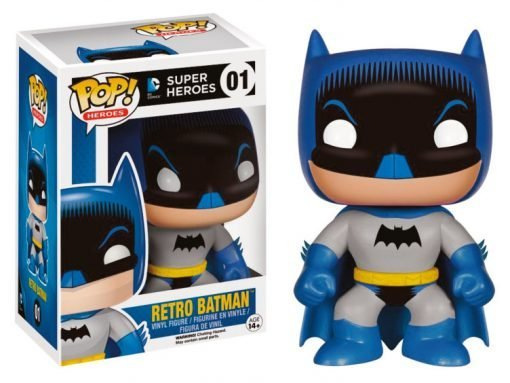 DC COMICS – RETRO BATMAN -FUNKO POP! VINYL FIGURE