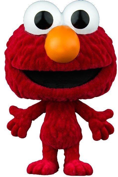Sesame Street Elmo Flocked Funko Pop Vinyl Figure