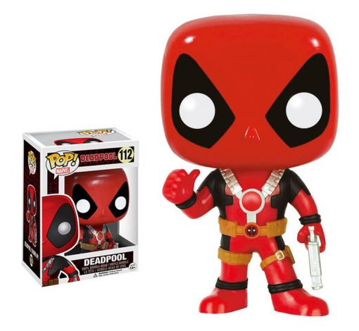 MARVEL – DEADPOOL THUMB UP – FUNKO POP! VINYL FIGURE