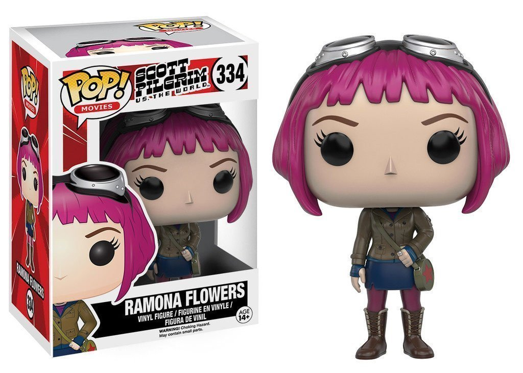 Scott Pilgrim Ramona Flowers Funko Pop Vinyl Figure