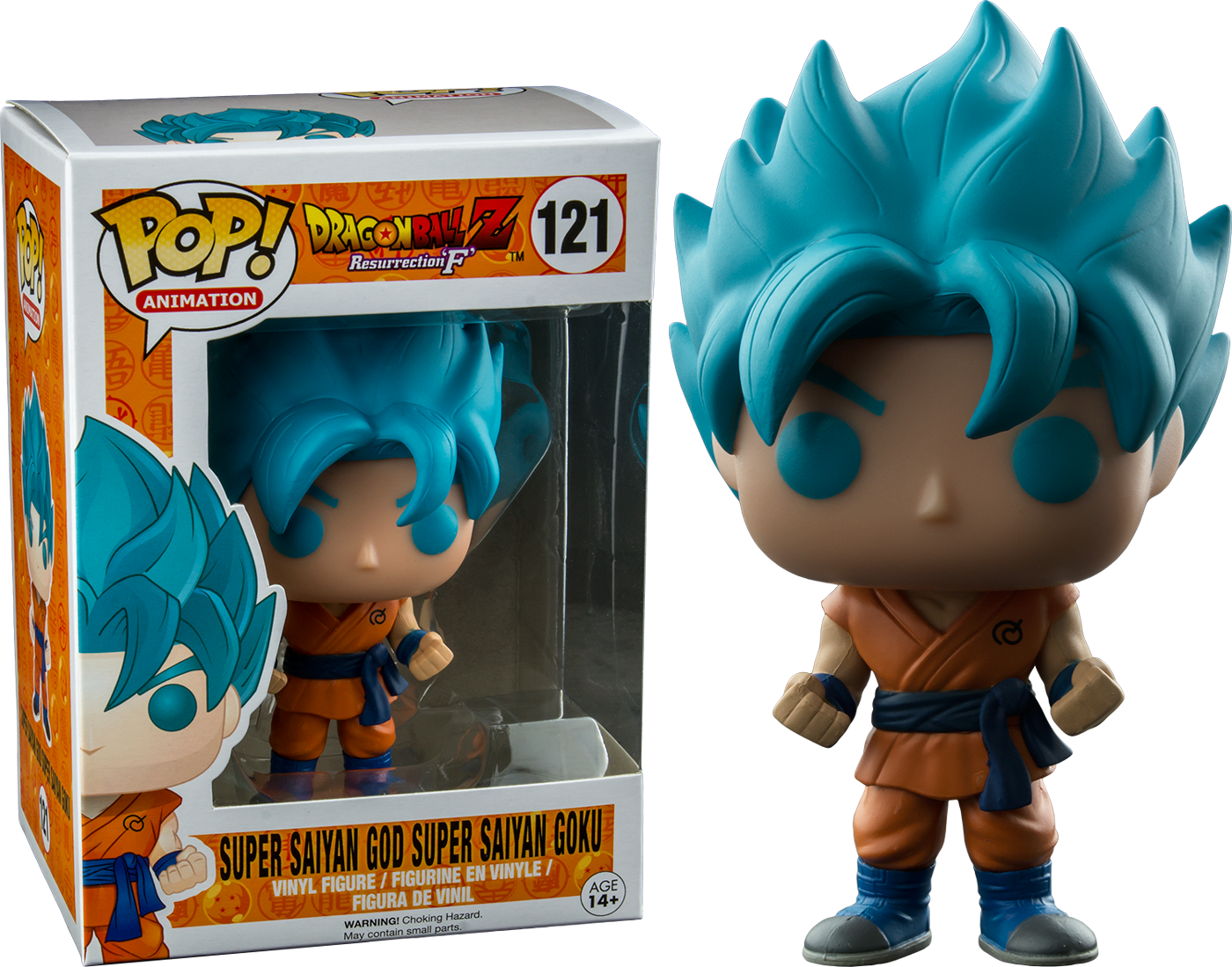 Dragon Ball Z Super Saiyan God Goku Funko Pop Vinyl