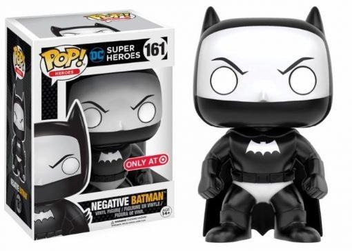 DC COMICS - NEGATIVE BATMAN - FUNKO POP! VINYL FIGURE
