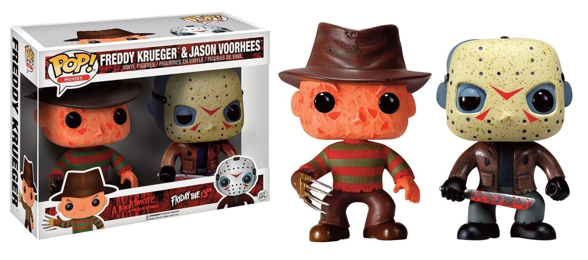 Horror Classics Freddy Amp Jason 2 Pack Funko Pop Vinyl