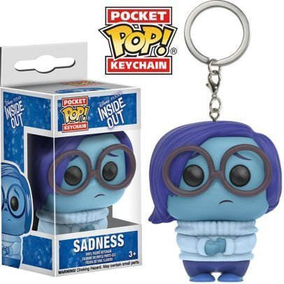 INSIDE OUT – SADNESS - FUNKO KEYCHAIN VINYL FIGURE