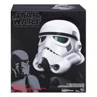 STAR WARS ROGUE ONE - IMPERIAL STORMTROOPER - BLACK SERIES ELECTRONIC VOICE CHANGER HELMET