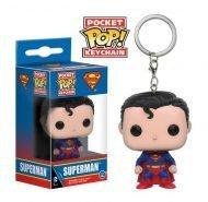 DC HEROES - SUPERMAN - FUNKO KEYCHAIN VINYL FIGURE