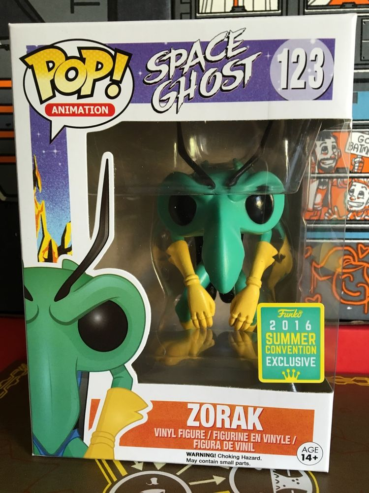 Sdcc 2016 Space Ghost Zorak Funko Pop Vinyl Figure