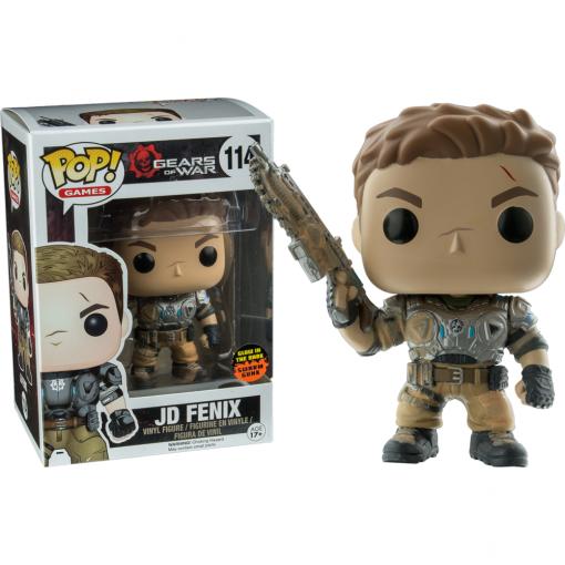 GEARS OF WAR - JD FENIX SWARM GLOW - FUNKO POP! VINYL FIGURE