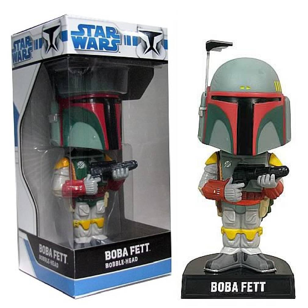 Funko Wacky Wobbler Star Wars Boba Fett Pop