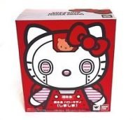 CHOGOKIN - HELLO KITTY RED FIGURE
