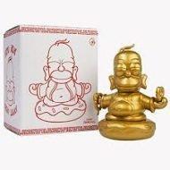 SIMPSONS - HOMER BUDDHA GOLD – VINYL FIGURE 8CM