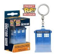 DOCTOR WHO – MATERIALIZING TARDIS - FUNKO KEYCHAIN VINYL FIGURE