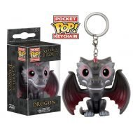 GAME OF THRONES - DROGON - KEYCHAIN FUNKO VINYL FIGURE