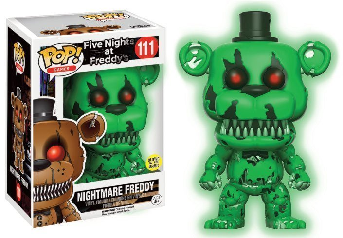 Five Nights At Freddy S Nightmare Freddy Glow In The