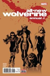 All New Wolverine Annual #1