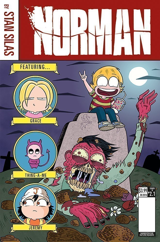 Norman The First Slash #3 Amoona Saohin Variant Cover