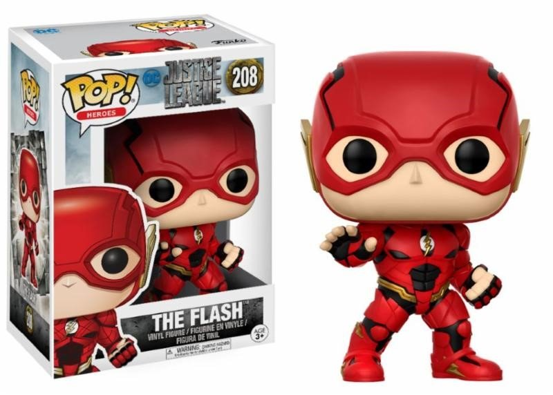JUSTICE LEAGUE – FLASH – FUNKO POP! VINYL FIGURE
