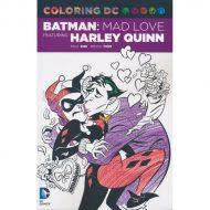 DC Batman Adventures feat Harley Quinn - Mad Love Coloring TP