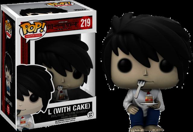 Death Note L With Cake Funko Pop Vinyl Figure Pop