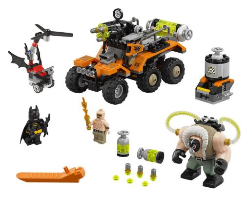 THE LEGO BATMAN MOVIE - BANE TOXIC TRUCK ATTACK