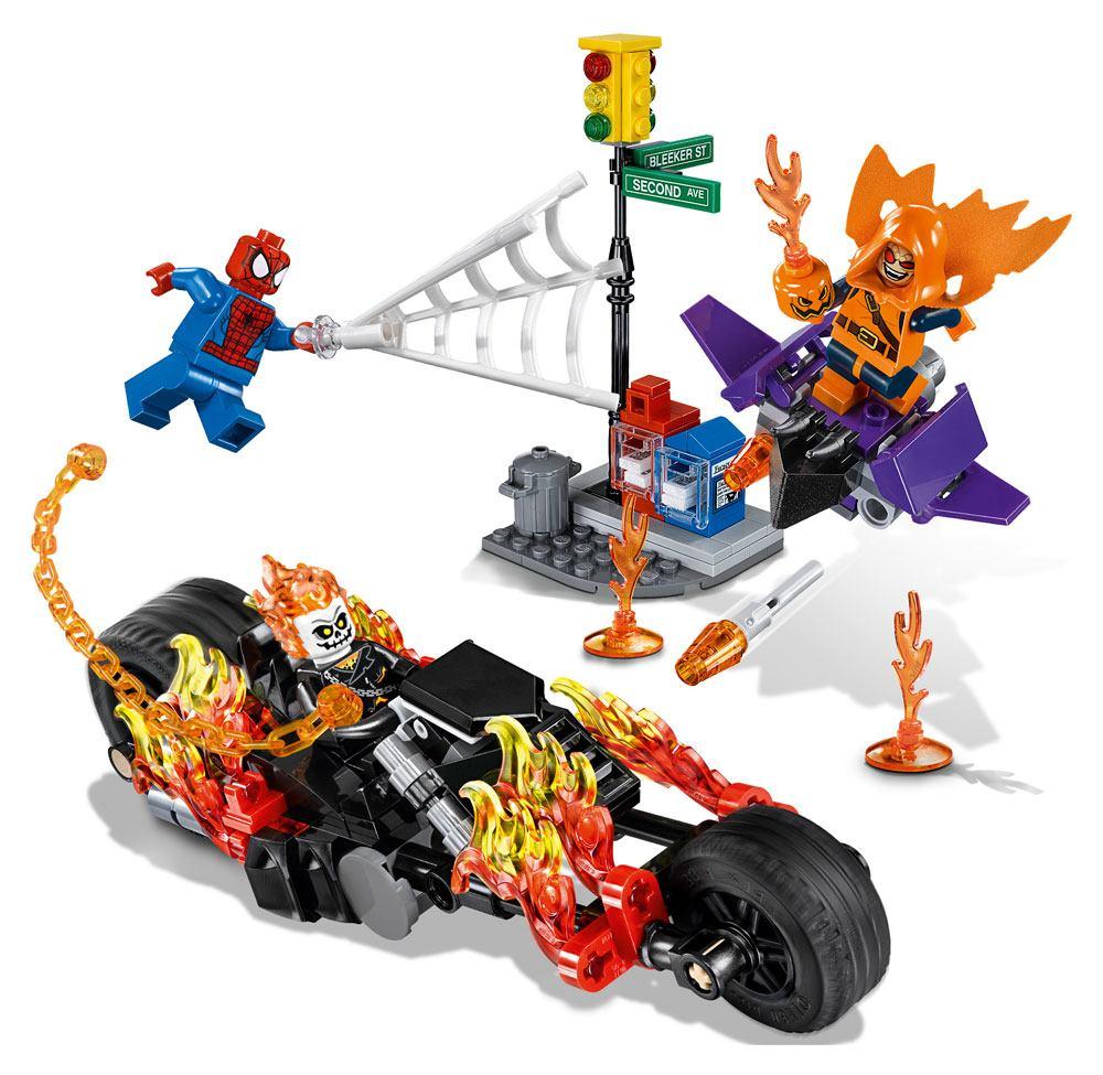 Lego marvel super heroes spider man ghost rider team up - Logo super heros ...
