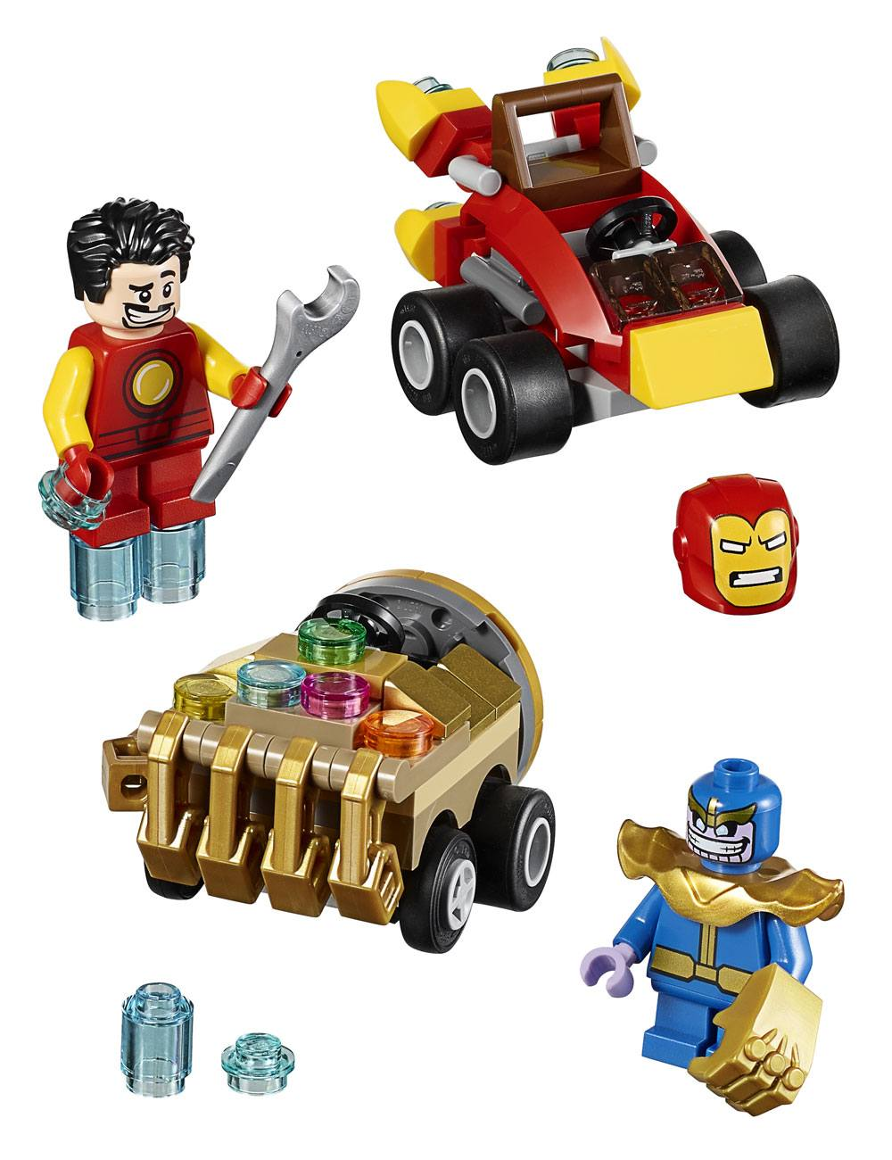 Lego Marvel Super Heroes Mighty Micros Iron Man Vs Thanos Pop