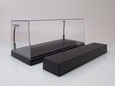 DISPLAY CASE WITH LIGHTING FOR 1/43 MODEL CARS