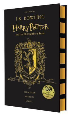 HARRY POTTER AND THE PHILOSOPHER'S STONE — HOGWARTS HOUSE EDITIONS - HUFFLEPUFF