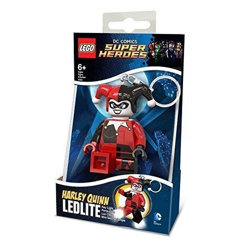 LEGO DC COMICS MINI-FLASHLIGHT WITH KEYCHAINS HARLEY QUINN