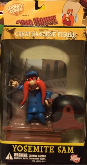 LOONEY TUNES GOLDEN COLLECTOR SERIES 3 – YOSEMITE SAM - ACTION FIGURE