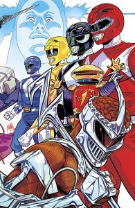 Mighty Morphin Power Rangers 2016 Annual #1 Felipe Smith Variant Cover NYCC Exclusive