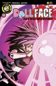 Dollface #6 Marco Maccagni Pin-Up Variant Cover