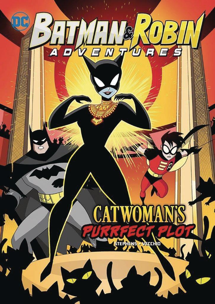 Batman Amp Robin Adventures Catwomans Purrfect Plot Tp